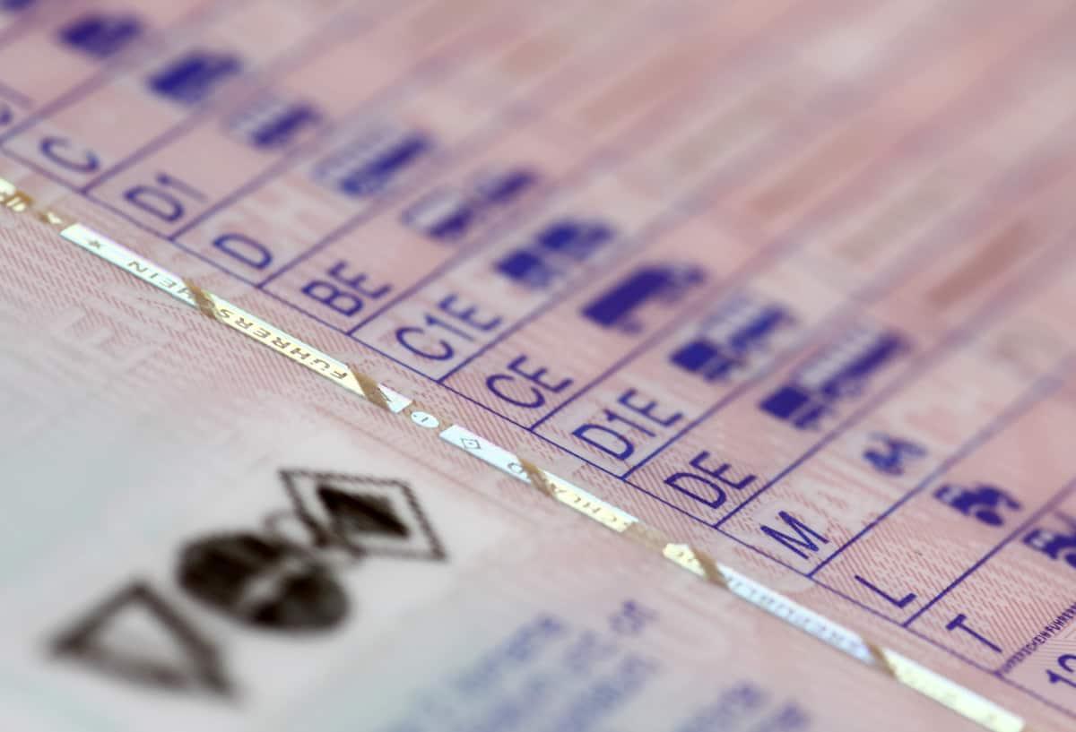 EU-Führerschein im Kartenformat