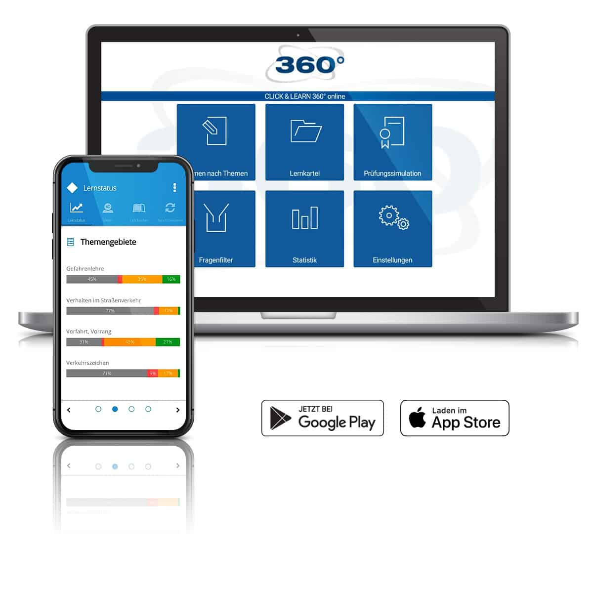 Neueste Lehrmittel mit Web-LogIn und als App